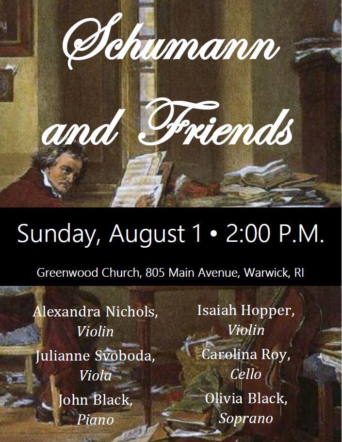 Schumann and Friends Flyer